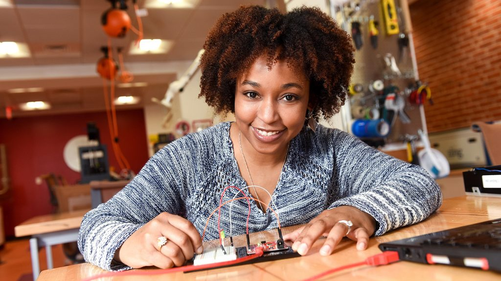 Graduate student Jami Mulgrave